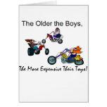 Older Boys = ExpensiveToys Cards