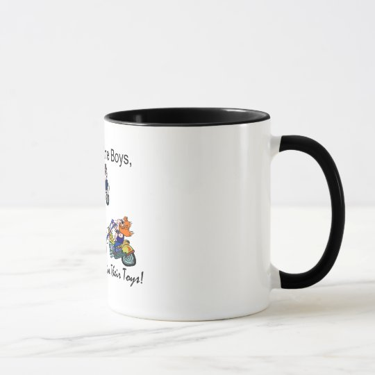 Older Boys = ExpensiveToys Mug