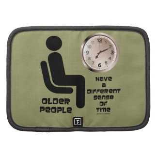 Older People Have A Different Sense Of Time Clock Organizers