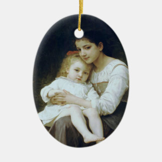 Older sister ceramic ornament