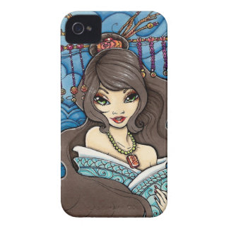 Older Sister Geisha in Kimono iPhone 4/4S Case