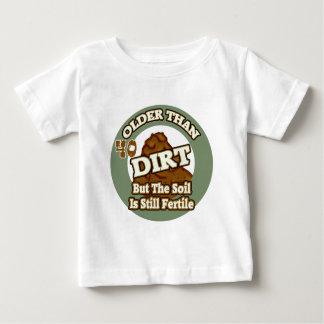 Older Than Dirt 40th Birthday Gifts Baby T-Shirt