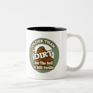 Older Than Dirt 60th Birthday Gifts Mug
