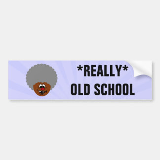 Older than dirt and proud of it senior citizen bumper sticker