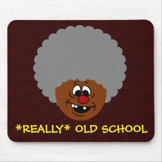 Older than dirt and proud of it senior citizen mouse pad