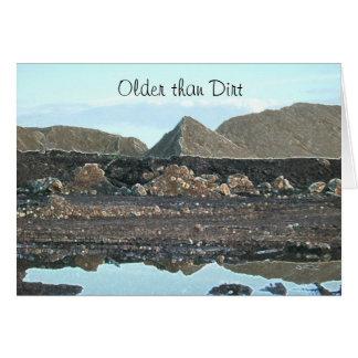 Older Than Dirt Birthday Card by Janz