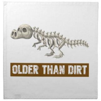 Older than dirt cloth napkin