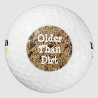 Older Than Dirt Golf Balls