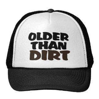 Older Than Dirt Trucker Hat