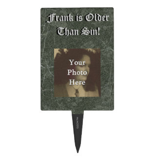 Older Than Sin Birthday Photo Ready Cake Topper Cake Toppers