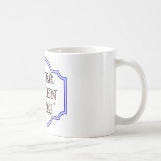 Older women rock coffee mug