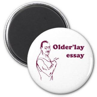 Olderlay Essay Fridge Magnet