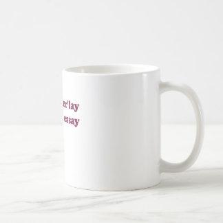 Olderlay Essay Mugs