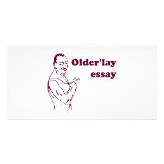 Olderlay Essay Custom Photo Card
