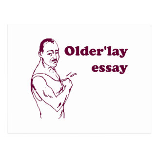 Olderlay Essay Postcard