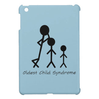 Oldest child syndrome funny iPad Mini case