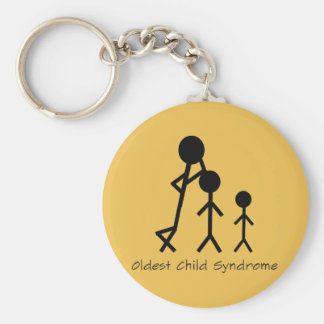 Oldest child syndrome funny keychain
