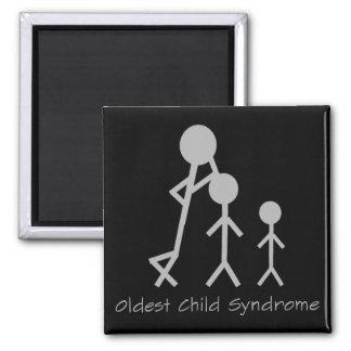 Oldest child syndrome funny magnet