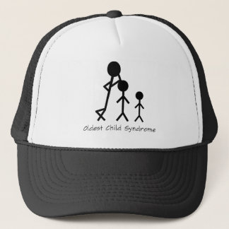 Oldest child syndrome funny trucker hat
