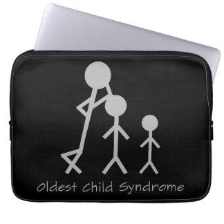 Oldest child syndrome laptop sleeve