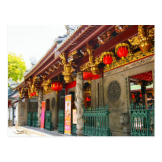 Oldest Chinese temple in Singapore Post Card