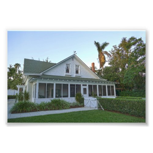 Oldest House in Naples, Florida Photo Print