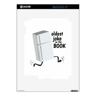 Oldest Joke In The Book Skins For iPad 2