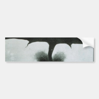 Oldest Known Photograph of a Tornado from 1884 Car Bumper Sticker