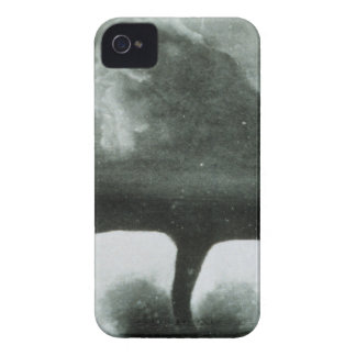 Oldest Known Photograph of a Tornado from 1884 iPhone 4 Case-Mate Case