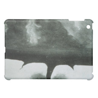 Oldest Known Photograph of a Tornado from 1884 Cover For The iPad Mini