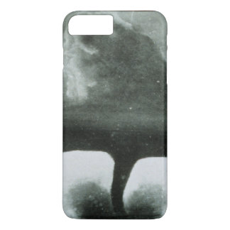 Oldest Known Photograph of a Tornado from 1884 iPhone 7 Plus Case