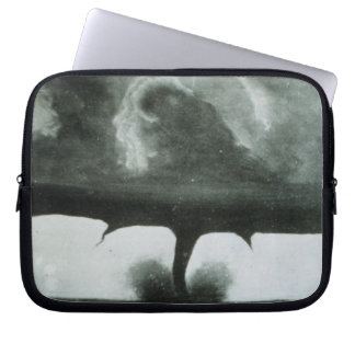 Oldest Known Photograph of a Tornado from 1884 Laptop Sleeves