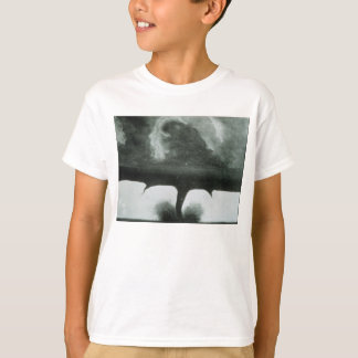 Oldest Known Photograph of a Tornado from 1884 T-Shirt
