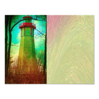 Oldest Light House in Toronto Card