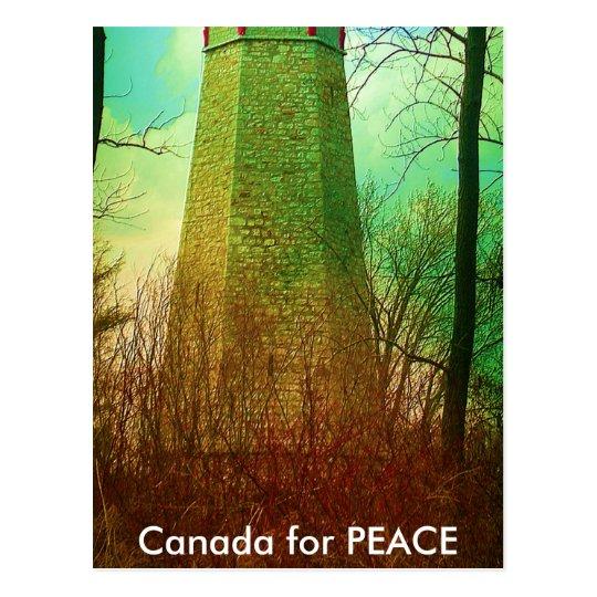 Oldest Light House in Toronto Postcard