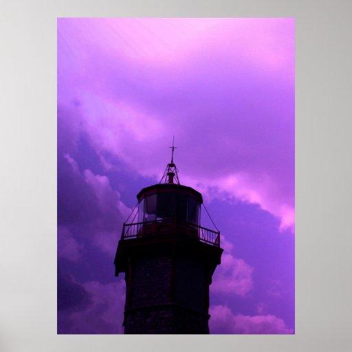Oldest Light House - Toronto Centre Island V12 Print