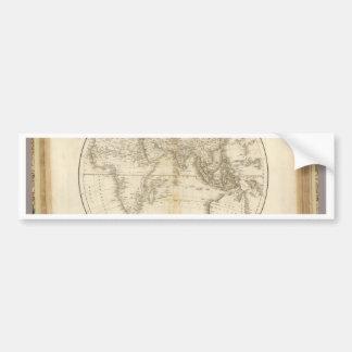 Oldest map of the world bumper sticker