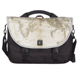 Oldest map of the world laptop commuter bag