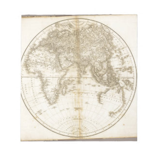 Oldest map of the world notepad