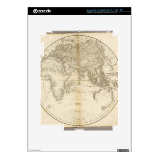 Oldest map of the world skin for iPad 3