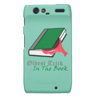 Oldest Trick in the Book (Whoopie Cushion) Motorola Droid RAZR Cover