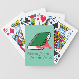 Oldest Trick in the Book (Whoopie Cushion) Bicycle Playing Cards