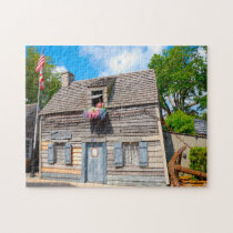 Oldest Wooden School Florida. Jigsaw Puzzle