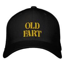OLDFART EMBROIDERED BASEBALL HAT