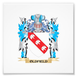 Oldfield Coat of Arms - Family Crest Photo Art