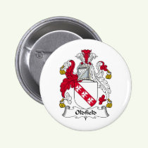 Oldfield Family Crest Button
