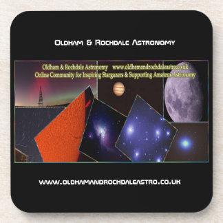 Oldham & Rochdale Astro Cork Coasters