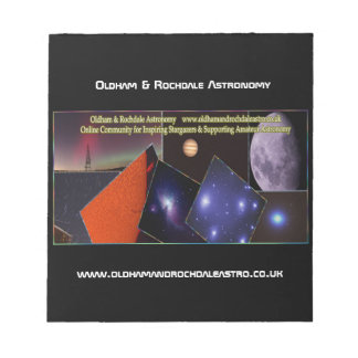 Oldham & Rochdale Astro Notepad
