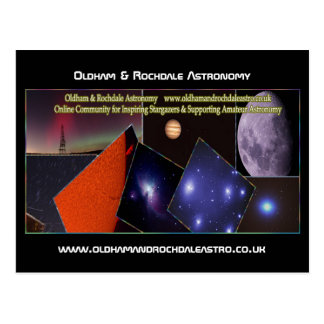 Oldham & Rochdale Astro Post Card