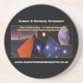 Oldham & Rochdale Astro Sandstone Coaster